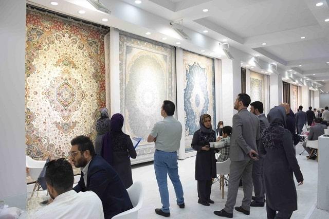 غرفه فرش بهشتی در یازدهمین دوره نمایشگاه بینالمللی