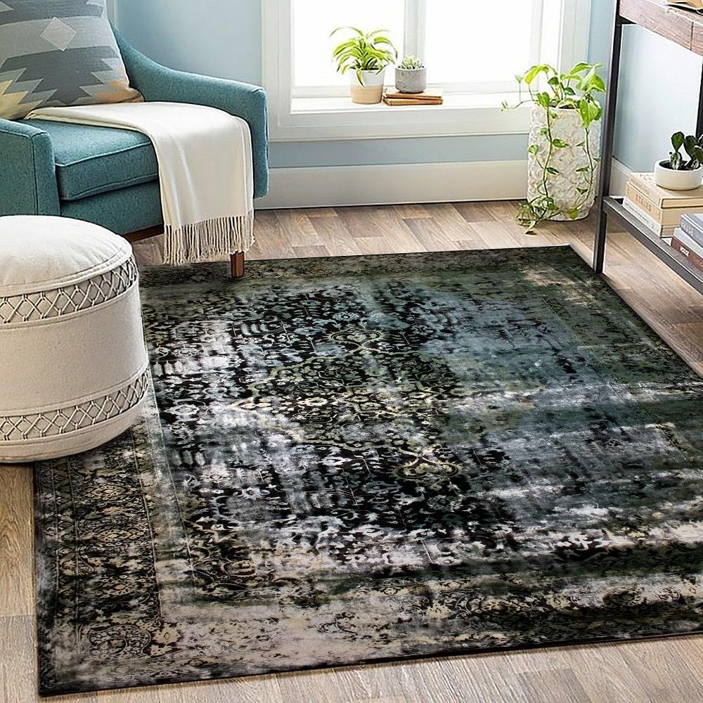 فرش سیاه برای پذیرایی