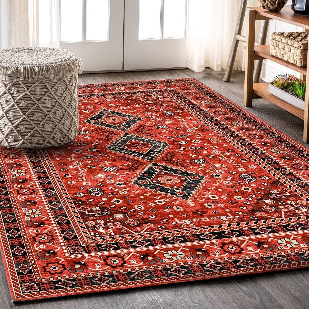 طرح و رنگ خاص فرش