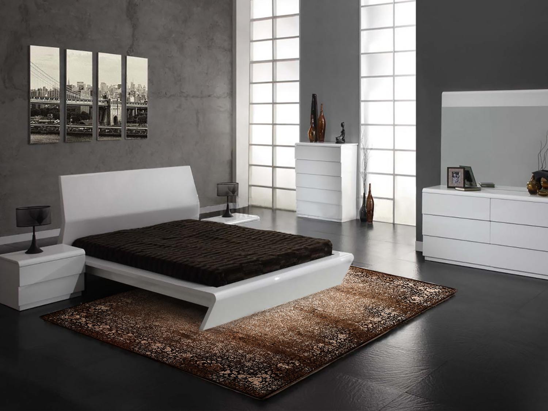 راهنمای انتخاب سایز فرش برای اتاق خواب