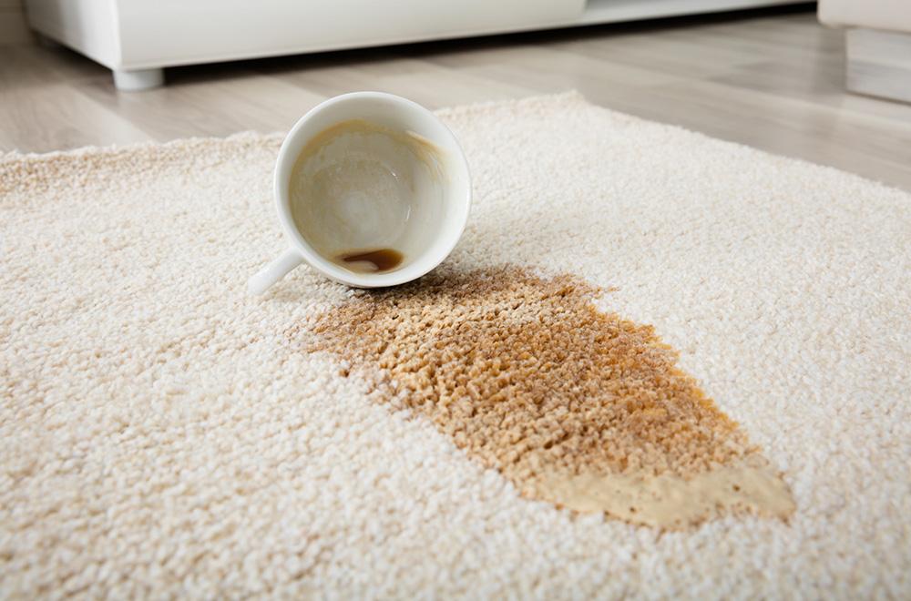نحوه از بین بردن لک چای از روی فرش